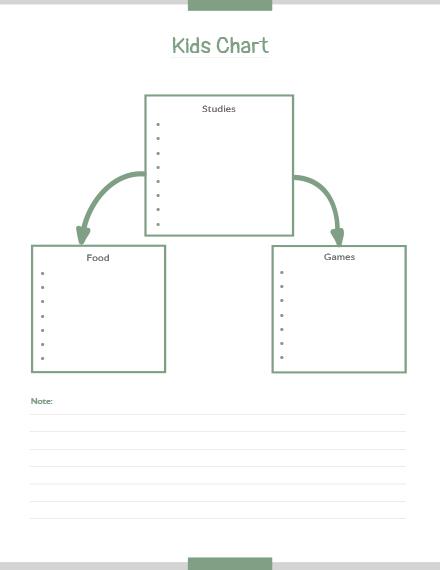 kids chart template