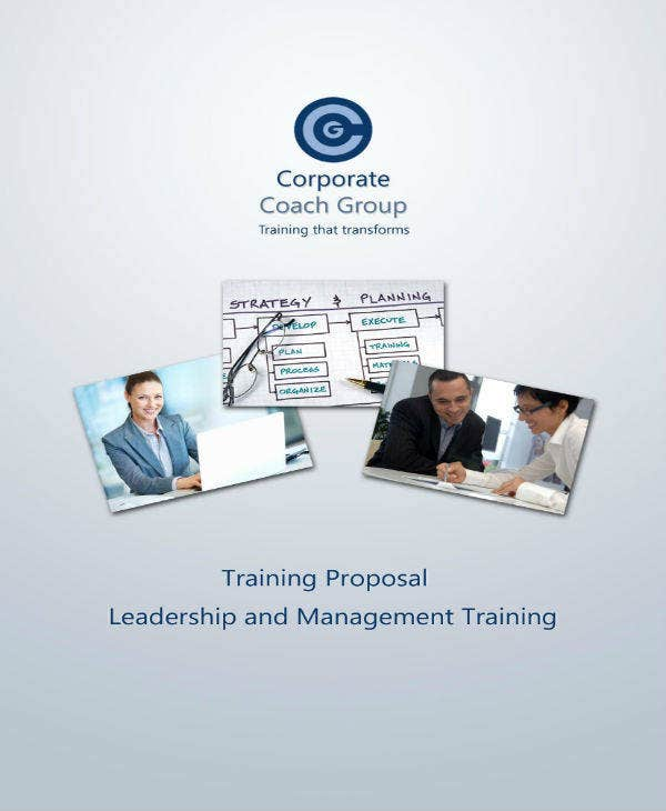 leadership training proposal
