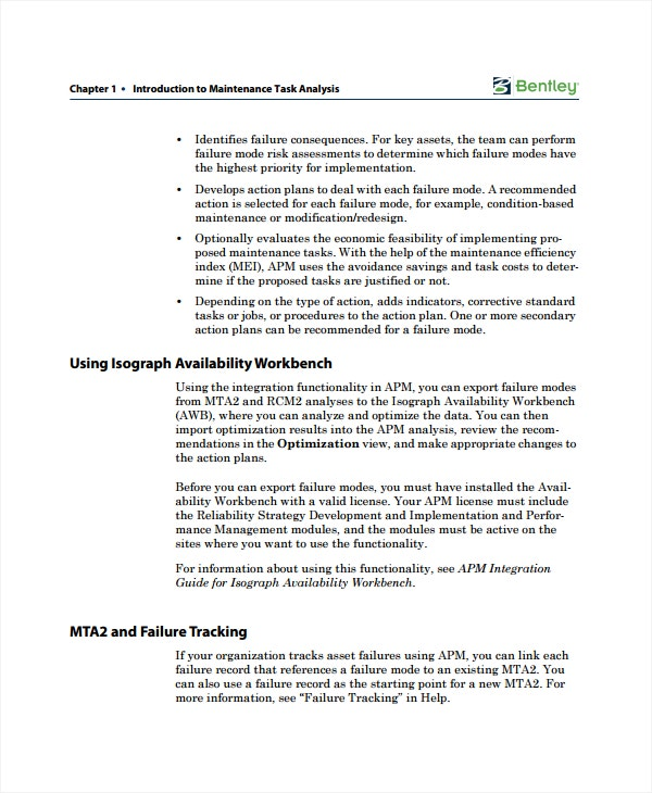 maintenance task analysis guide