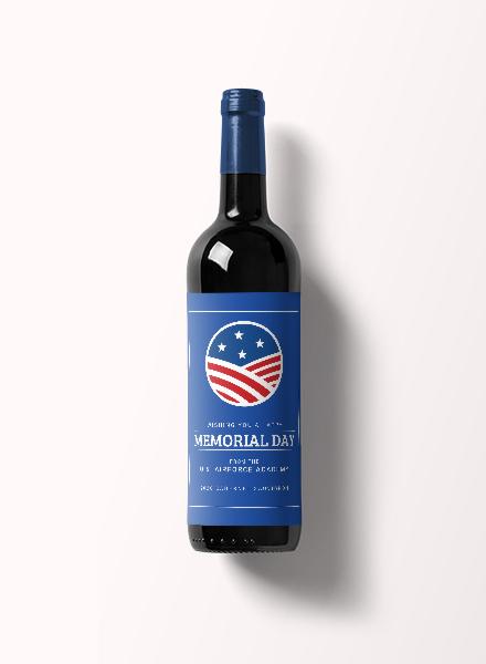 memorial-day-wine-label