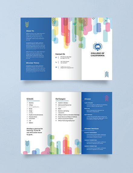 Modern College Brochure Template 4 1