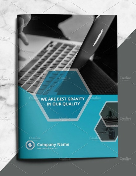 modern creative business brochure template