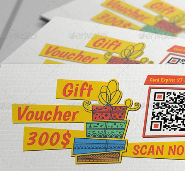 modern gift voucher sample