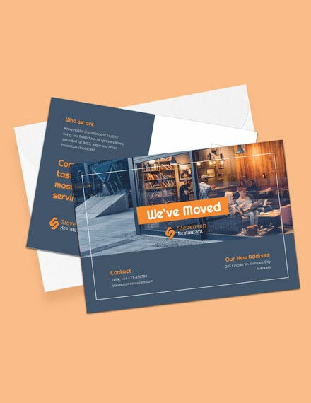 Moving Business Postcard Template