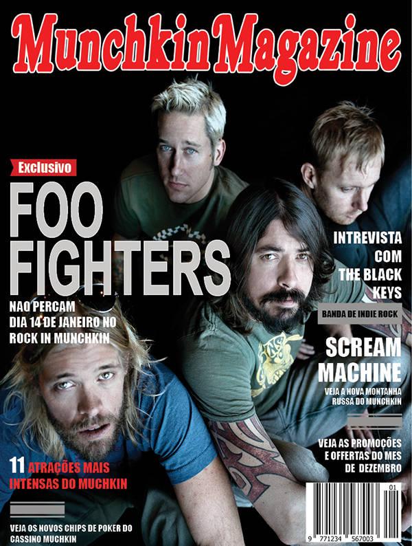 music magazine design template