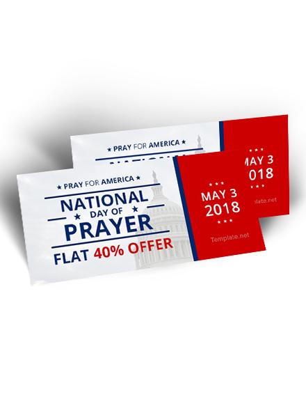 national prayer day voucher template