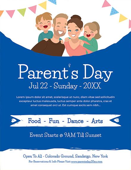 Parents Day Flyer
