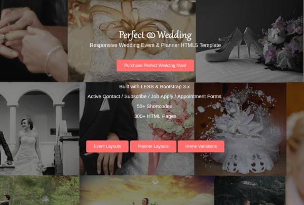 perfect wedding planner website template e1541178139415
