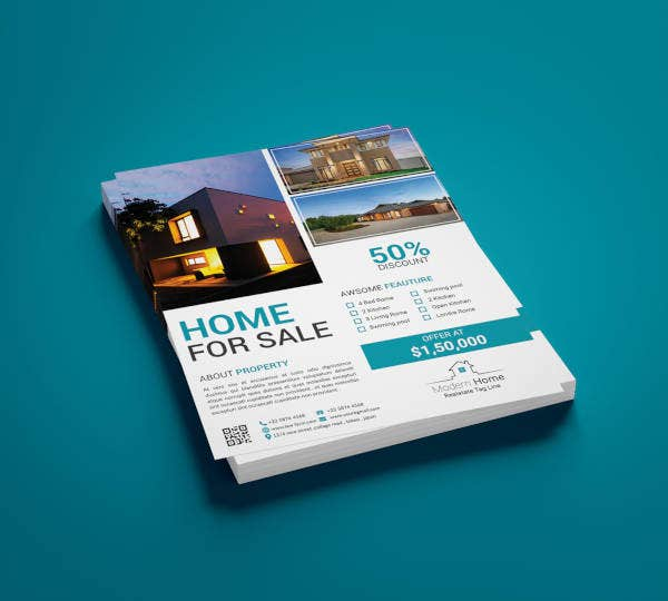 real estate branding flyer