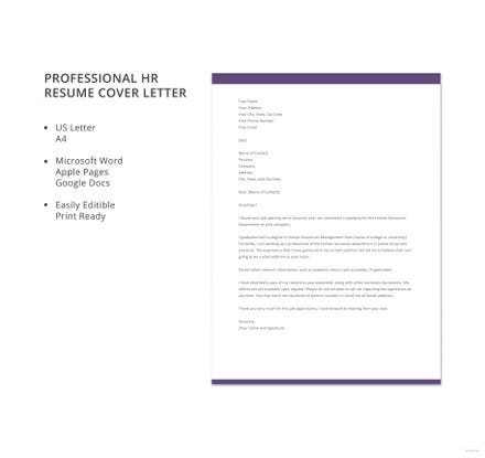 receptionist resume cover letter template