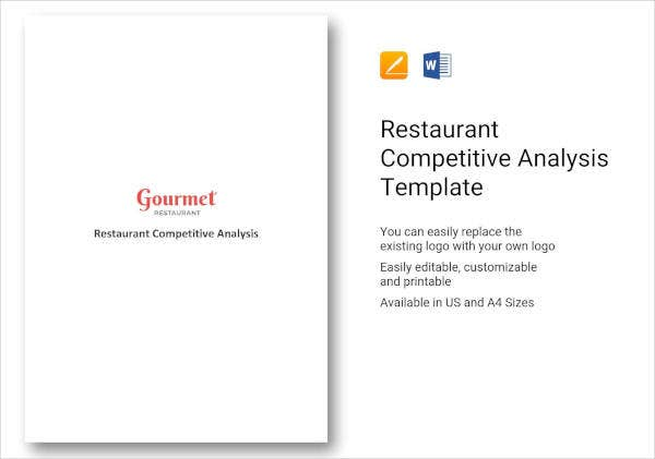 restaurant competitive analysis example