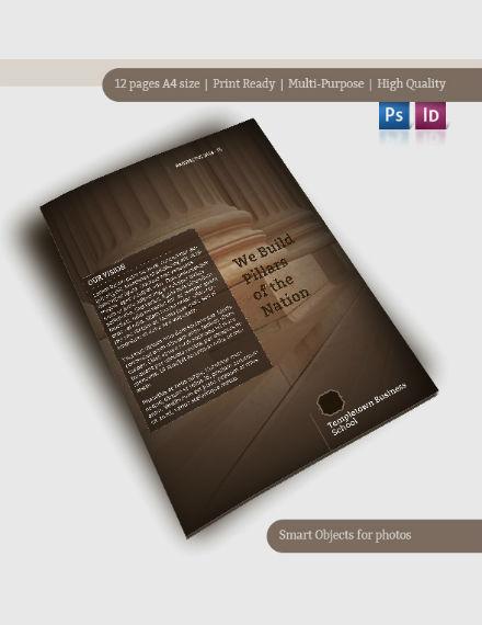 rustic-annual-report-template