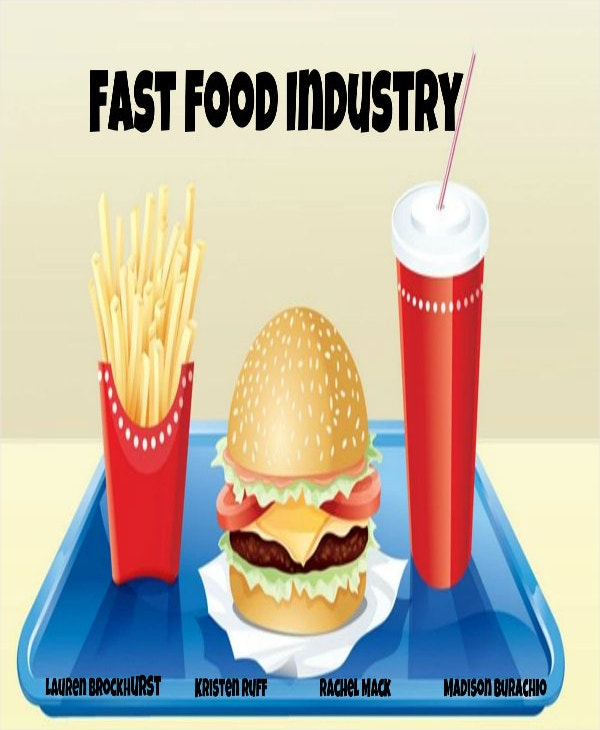 sample fast food industry analysis