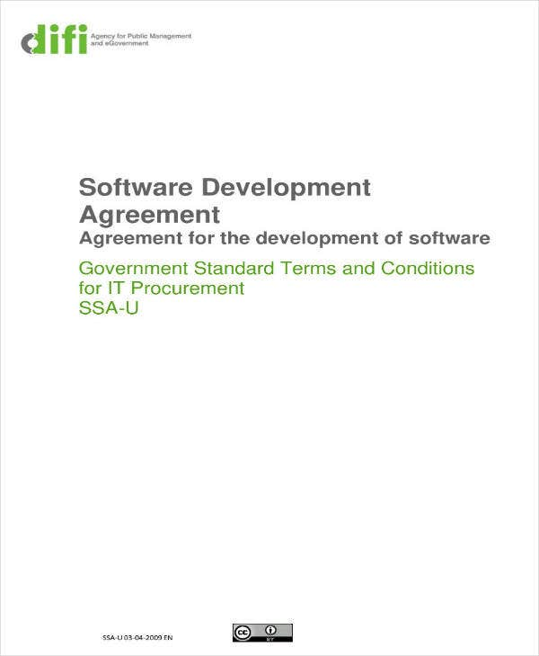 Sample Software Development Outsourcing Contract