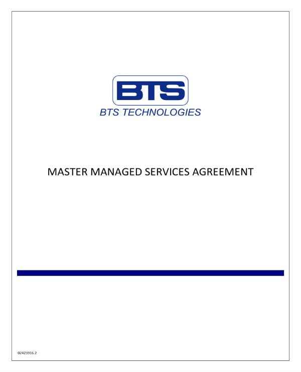 simple managed services agreement contract 01