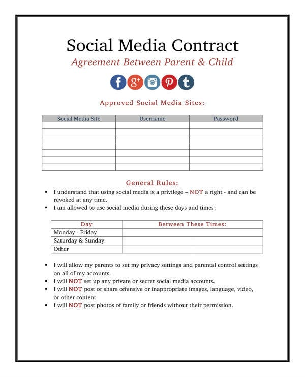 simple social media contract 1