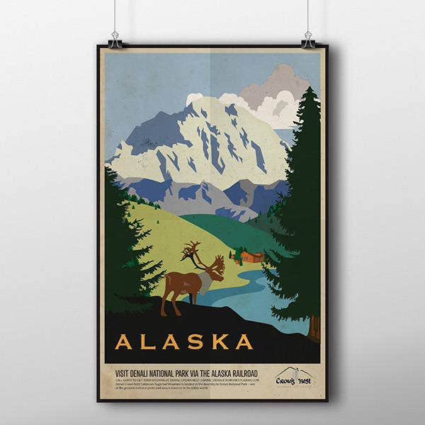 Simple Travel Poster Template