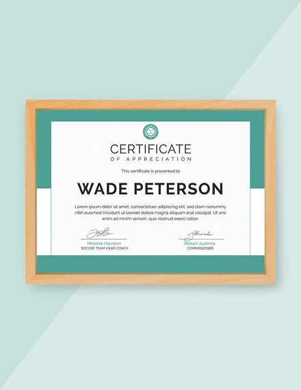 soccer award certificate m1x