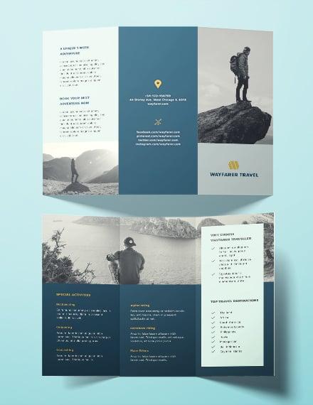 travel brochure template s