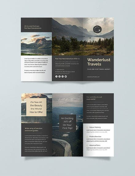 travel trifold brochure 440px