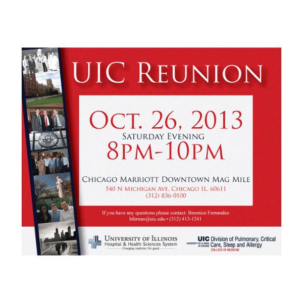 university reunion invitation template