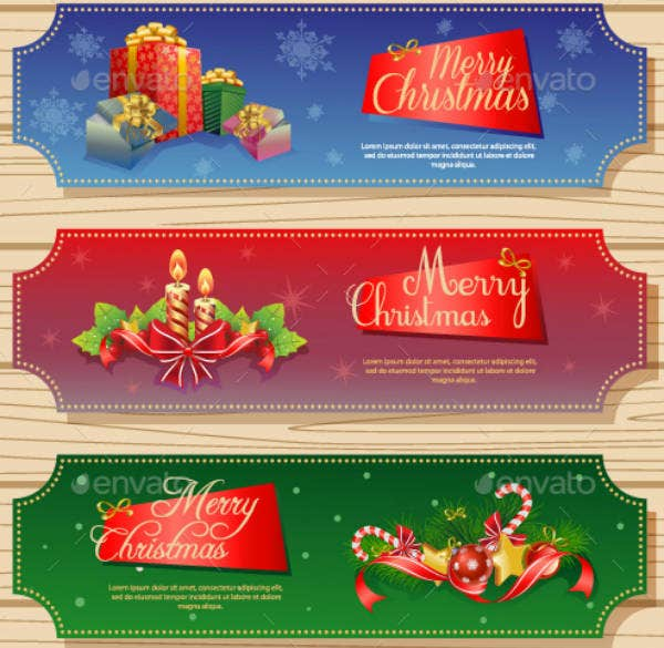 Vintage Christmas Ticket Template