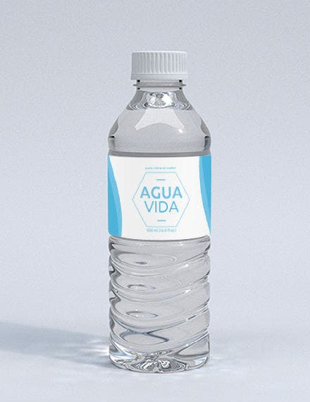Water Bottle Template jpg440