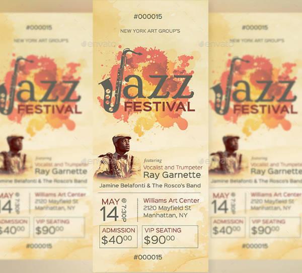 Watercolor Jazz Festival Ticket