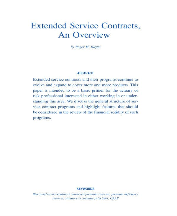 extended vehicle service contract 01