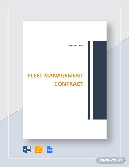 fleet management contract