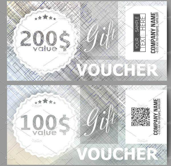 imple gift voucher template