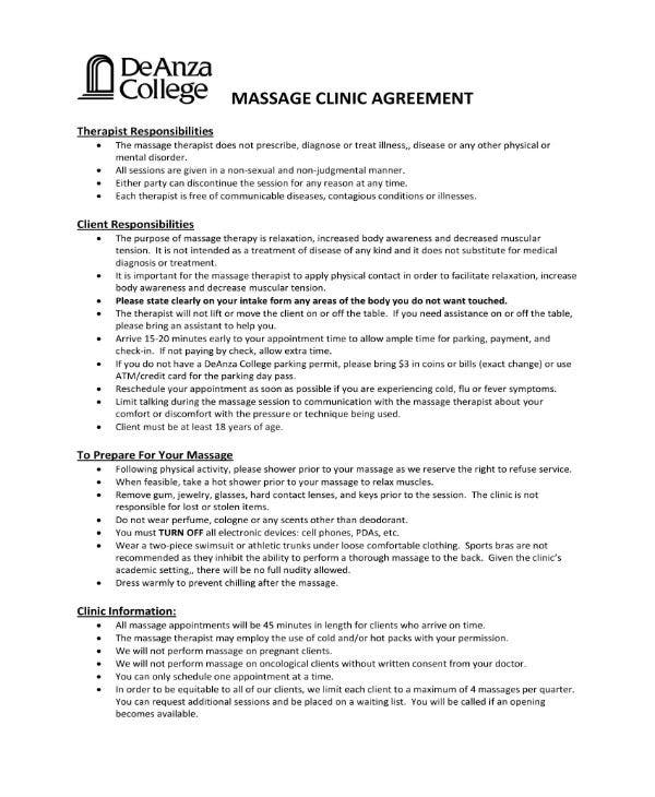 massage client agreement 1