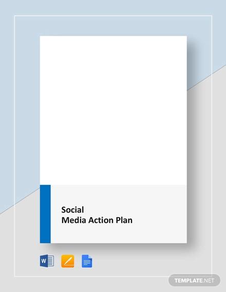 social media action