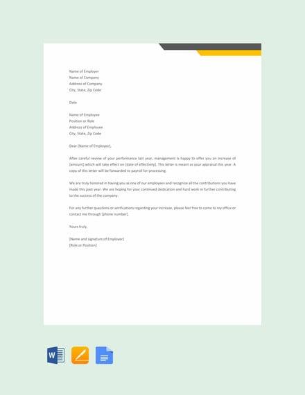 Request Letter For Job Promotion, Appraisal Letter Format, Request Letter For Job Promotion