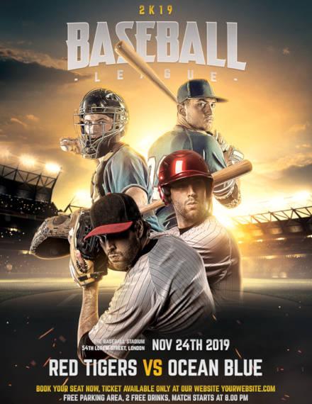 baseball flyer example