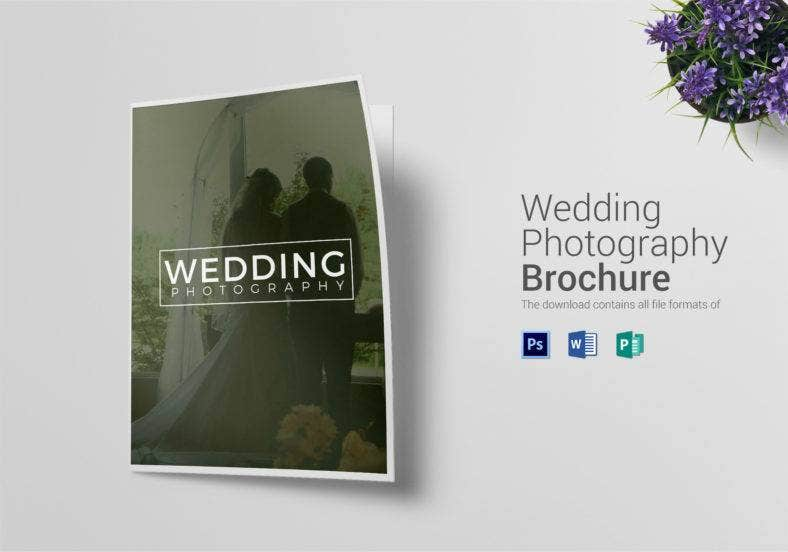 bi fold wedding photography brochure  788x552