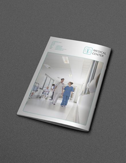 bifold medical center brochure sample