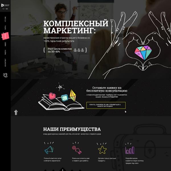 Business Partner Marketing Agency Website