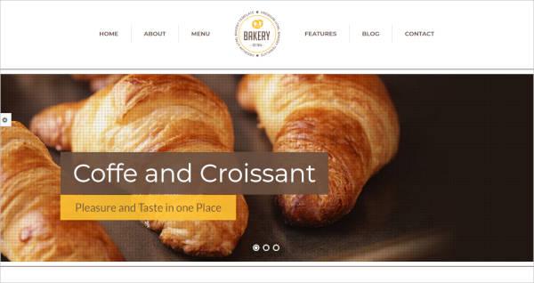 Cakery & Bakery HTML5 Template