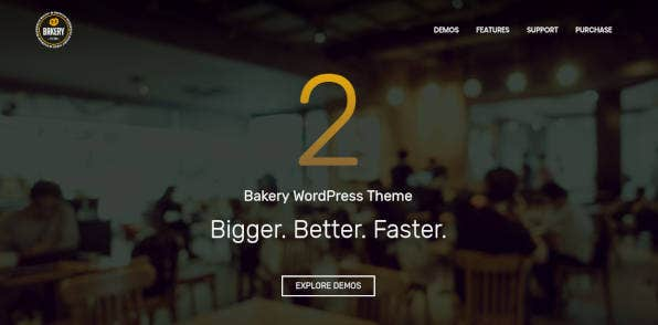 Cakery & Food Business Theme