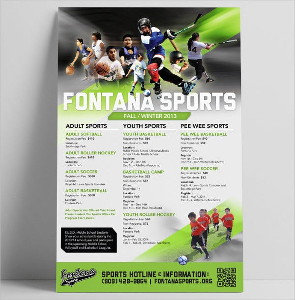childrens-sports-event-posters