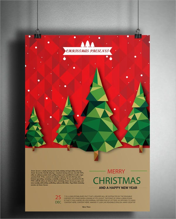 christmas flyer samples