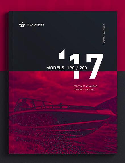 company branding catalog sample
