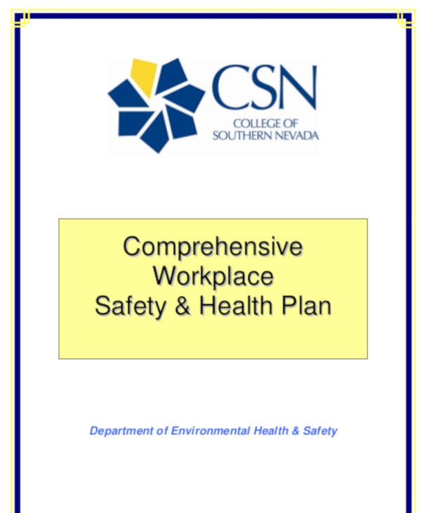 comprehensive work place safety workplace