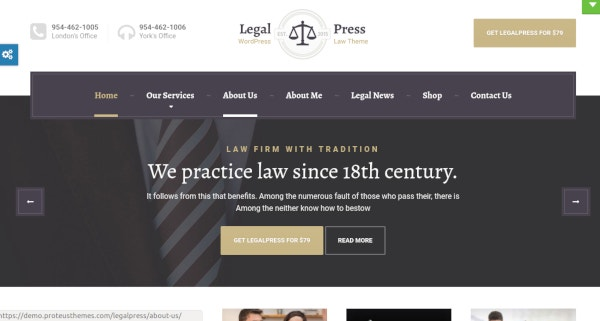 creative law and attorney theme