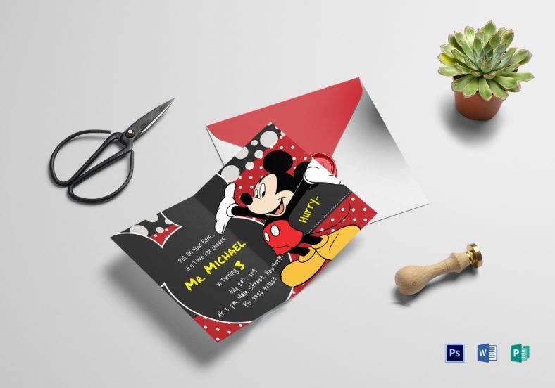 delightful animal birthday invitation card template 788x552