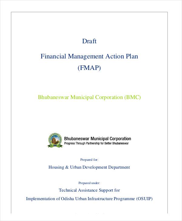 draft financial management action plan