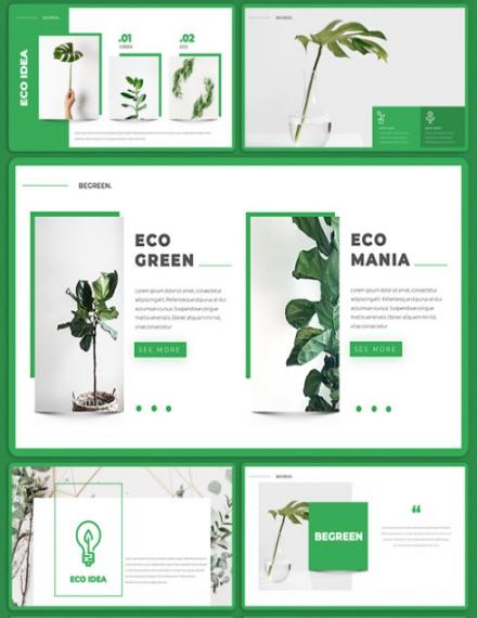 Eco Presentation Template