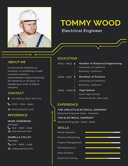 electrical engineer resume template1