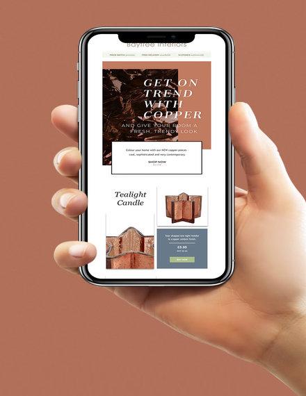 email sales newsletter sample
